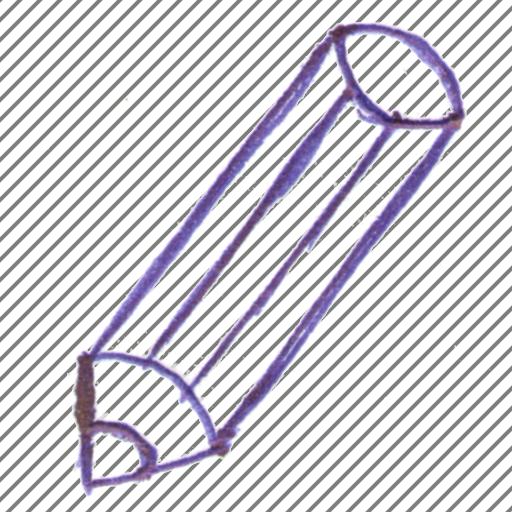handle, pen, pencil, style icon