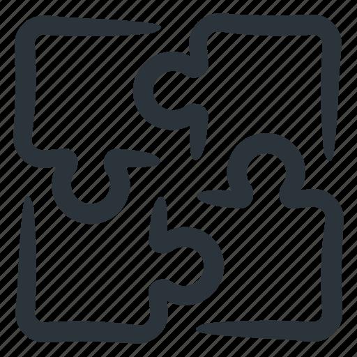 business solution, integration, puzzle, puzzle pieces, puzzle solution, puzzling, solutions icon