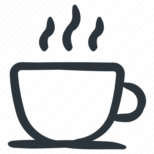 coffee, drink, hot coffee, hot drink, tea icon