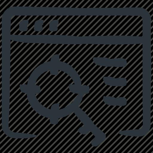 keyword, keyword optimization, keyword targeting, optimization, seo icon