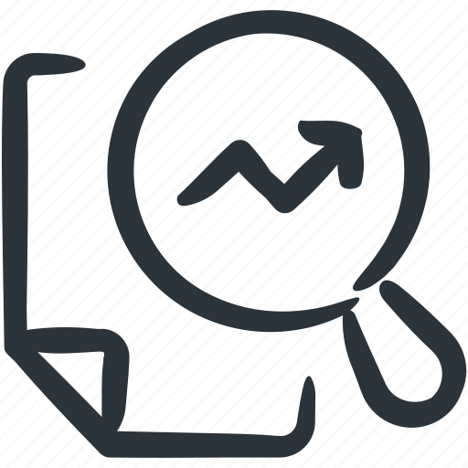 analysis, analytics, chart, research, trend analysis icon