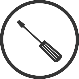 construction, diy, repair, screwdriver, tool icon
