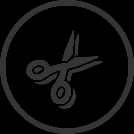 cut, cutting, diy, scissors, tool icon