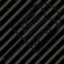 dreidel, toy, worship, top, wood, traditional, white icon