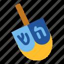 chanukah, dreidel, hanukkah, israel, jewish, religious, toy icon
