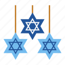 chanukah, hanukkah, hanukkah decorations, israel, jewish, religious, star of david