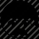 man, avatar, smile, happy, face, emotion, moustache icon