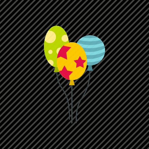 air, balls, birthday, celebration, decoration, holiday, surprise icon