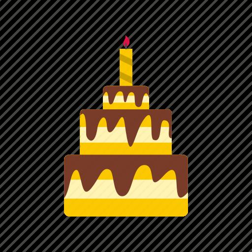 bakery, birthday, cake, celebration, dessert, happy, sweet icon