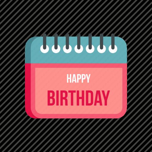 Birthday Calendar.Happy Birthday By Ivan Ryabokon