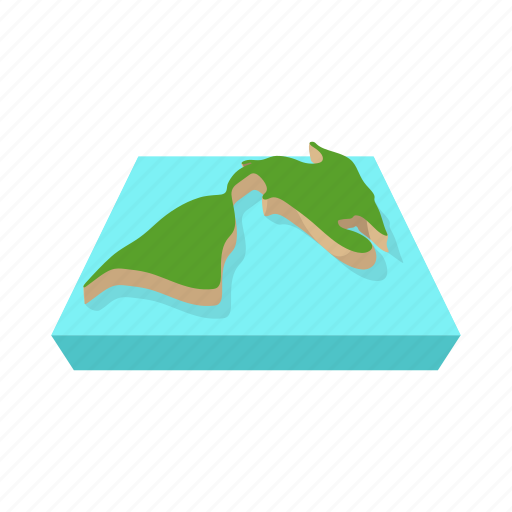 america, cartoon, land, map, north, travel, usa icon