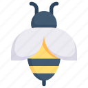 bee, easter day, egg, happy easter, holidays, honeybee, spring season icon