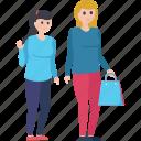 purchasing, shopping, shopping girls, shopping time, window shopping icon