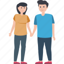 dating, matrimonial, relationship, romantic couple, spouse icon
