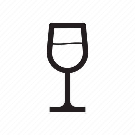 chardonay, drinks, glass, white wine icon
