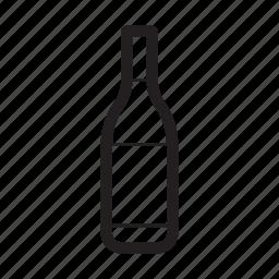 bottle, gin, wine icon