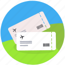 booking, flight, fly, plane, ticket, travel, vacation icon