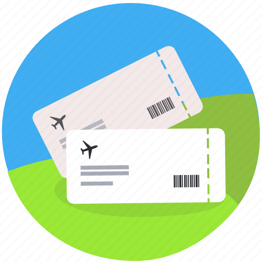 Booking, flight, fly, plane, ticket, travel, vacation icon - Download on Iconfinder