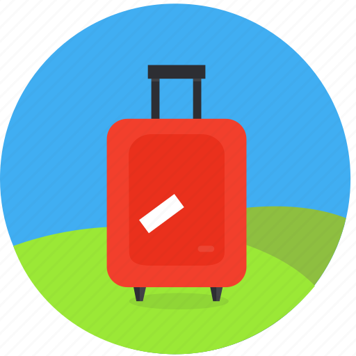 baggage, flight, luggage, travel, trip, vacation, weekend icon