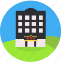 building, hotel, inn, real estate, travel, city, booking