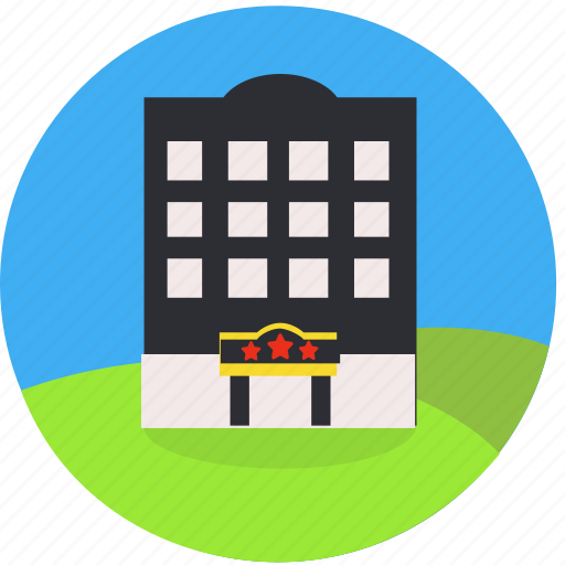 booking, building, city, hotel, inn, real estate, travel icon