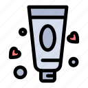cream, lotion, toothpaste icon