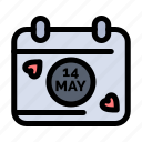 calendar, date, day icon
