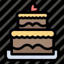cake, wedding icon