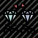 diamond, jewel, mom, present icon