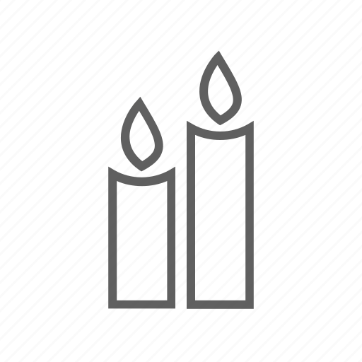 bright, candle, candle light, celebration, light icon