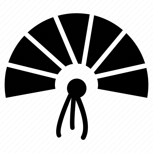 Asian fan, chinese fan, folding fan, handheld fan, paper fan icon - Download on Iconfinder
