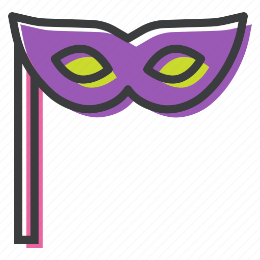 art, carnival, festival, mask, new year, stage, theatre icon
