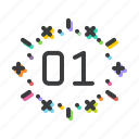 bang, blast, boom, celebration, festival, january, new year icon