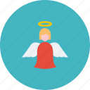 angel, christmas, easter, fairy, holy, new year, spirit icon