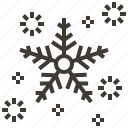 christmas, new year, snowflake, winter, xmas icon