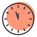 clock, countdown, new, time, twelve, year icon