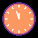 clock, countdown, new year, time, twelve icon
