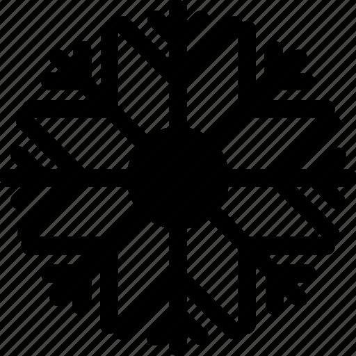 happy, new, party, snow, snowflake, year icon