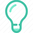 idea, ideas, inspirate, inspiration, lamp, light, sugestion icon