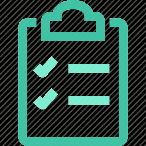 artboard, board, clip, clipboard, list, task icon