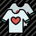 couple, shirt, fashion, clothing, love, valentines, passion