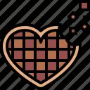 heart, chocolate, romantic, sweet, love, valentines, passion