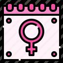 calendar, women, feminism, feminine, venus
