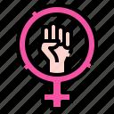 feminism, feminine, sign, symbol, venus