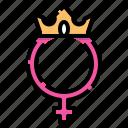 feminism, feminine, sign, symbol, venus, queen