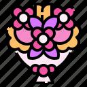 flower, bouquet, floral, wedding