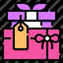 gift, box, present, giftbox