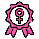medel, feminism, feminine, sign, symbol, venus