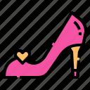 shoe, women, high, heels, footwear