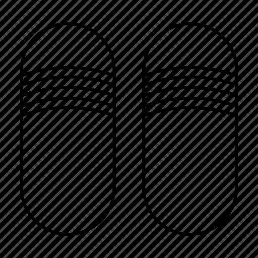 footwear, sandals, slipper, slippers, sock icon